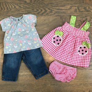 Adorable baby girl 6 month outfits